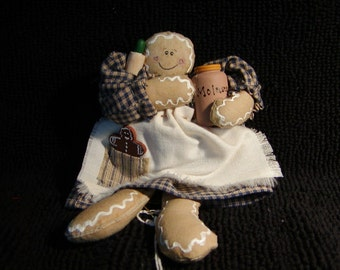 Gingerbread Girl Ornament (1)