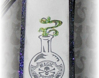 Magic Potion--- Halloween Tags (4)