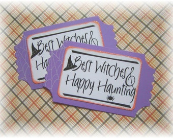 NEW--- Tickets-- Oversized--Best Witches--- Happy  Haunting (2)