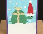 Holiday Turtle Card