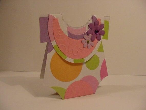 Onsie bib favor box  card- free US shipping