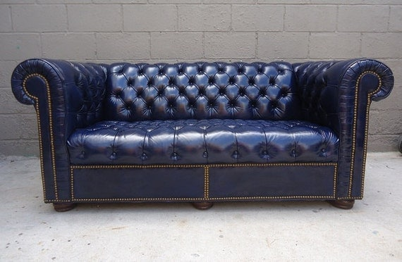 Reserved listing for patrickwilson73 vintage chesterfield for Sofa with studs