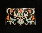 1940's Cigarette Case, Volupte, Enamel, RARE & LOVELY