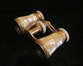 Opera Glasses, Marchand Opera Glasses, Mother Of Pearl, 1800's