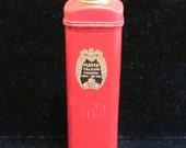 Vintage Tin 1920's Powder Tin Mavis Powder Tin Vivaudou Tin Talcum Powder Trial Size Tin Vintage Powder Tin Mavis Tin Trial FULL & UNUSED