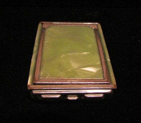 1930s Girey Compact Powder Compact Rouge Compact Mirror
