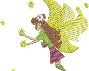Fairy Twinkles Embroidery