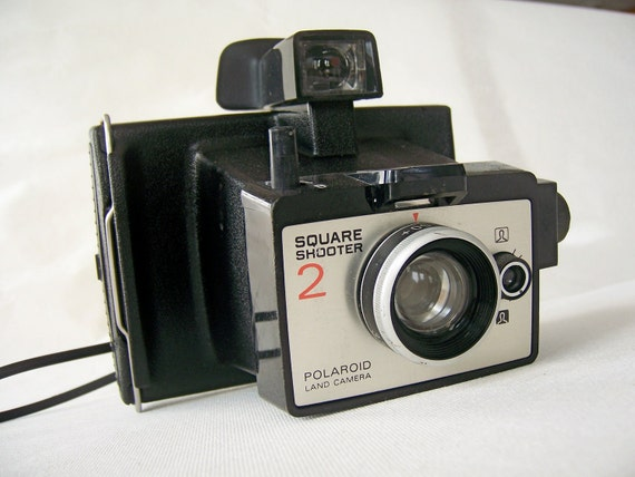 Vintage Square Shooter 2 Polaroid Land Camera was a 70s vacation essential