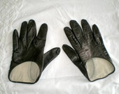 Vintage Grandoe racing gloves