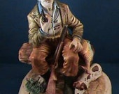 0068  Vintage Capodimonte Figure The Hunter (US ONLY)