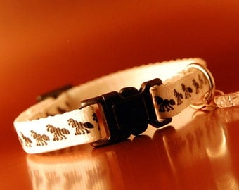 Breakaway Cat Collar wIth Fish Charm