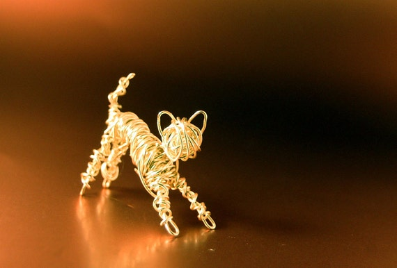 Copper Tiny Wire Kitten