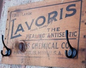 Antique Crate Wall Hook-Lavoris