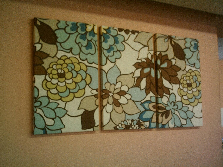 fabric wall art in - photo #27