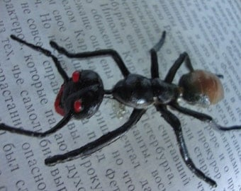 Huge Ant Brooch Pin - Insect Pin