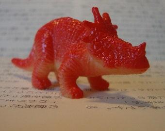 Bright Orange Centrosaurus Dinosaur Brooch Pin