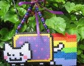 Nyan Cat Wall Hanging/ Window Cling