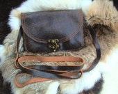 Free Shipping Small Crossbody leather bag / purse