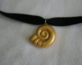 Little Mermaid: Ursula's Sea Witch Seashell Pendant
