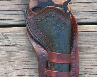 Western Double Loop Holster