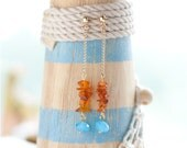 Earrings Sea Breeze - Limited Edition - ready to ship - Europe