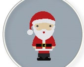 Instant download,free shipping,Cross stitch pattern, Cross-StitchPDF,Santa Claus,zxxc0119