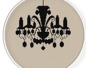 Instant download,free shipping,Cross stitch pattern, Cross-StitchPDF, pattern design ,luxury lamp ,zxxc0138