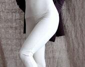 Organic Fold Top Leggings- Organic Bodysuit