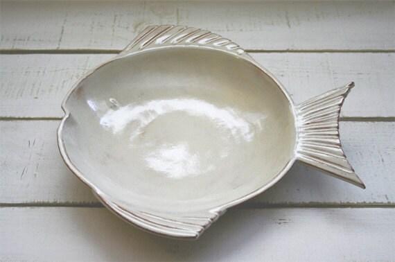Fish Tales Shallow Bowl
