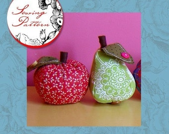 Apple and Pear - Sewing PDF Pattern