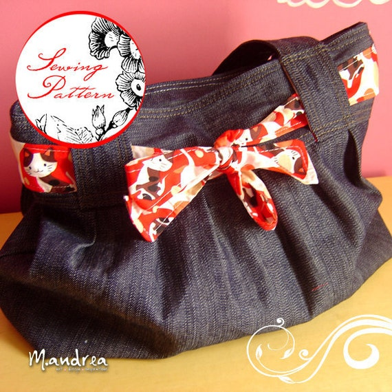 Luli shoulder bag - Sewing Pdf Pattern
