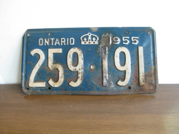 how to return license plates ontario