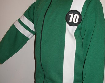 New Ben 10 Knit Jacket With Zipper Costume Size 4-5