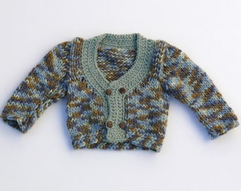 Handsome baby sweater