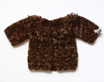 Little sheep baby sweater