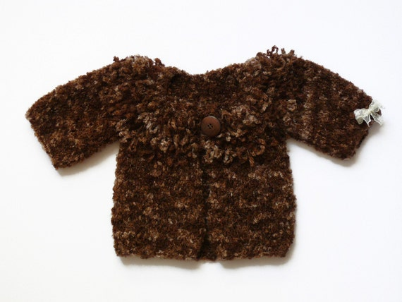 Little sheep baby sweater