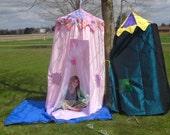 bigtop play tent, disney princess castle