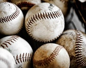 Vintage Baseballs  Number 3  Digital Download 300 DPI
