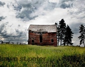 Montana Barn and Sky  300DPI Digital Download Suitable for Framing