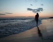 Romantic sunrise in seaside postcards - Fine Art Photograph