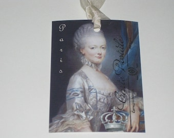 Marie Antoinette Gift Tags Belle of the Ball