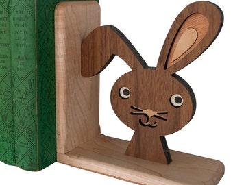 Woodland Bunny Rabbit Bookend (1)