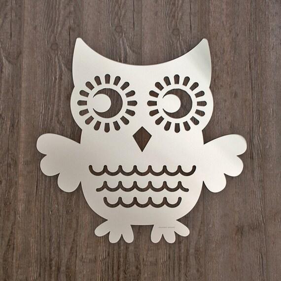 Owl Acrylic Mirror