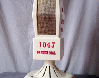 FREE SHIPPING - Promotional Mike Radio from Oswego NY