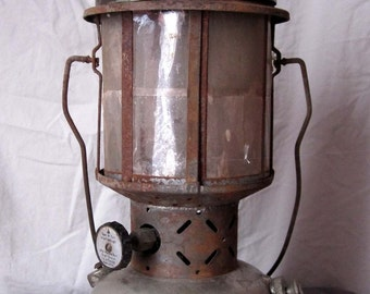FREE US SHIPPING - 1931 Coleman Instant Lite Lantern with Mica Globe