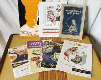Take Your Pick - One of Seven 1920s-1940s Cookbooks