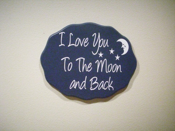 Items Similar To I Love You To The Moon And Back Vinyl: Items Similar To I Love You To The Moon And Back On Etsy