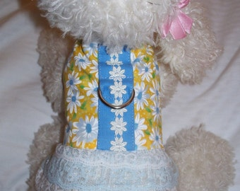FLOWER LACE HARNESS. Perfect Item for your Cat, Dog OR Ferret. ALL Items Are CUSTOM Made For Your PET.