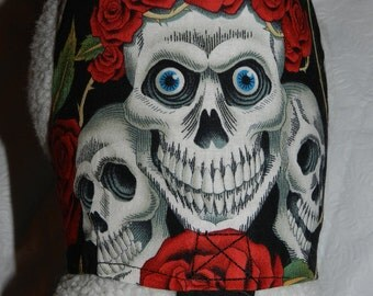 Goth Gothic ROCK n ROLL Skulls & Roses Harness, Perfect Item for your Cat, Dog or Ferret. All Items are custom made for Your Pet.