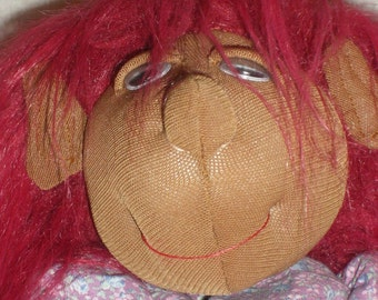 Red Hair Doll with big foot